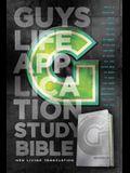 Guys Life Application Study Bible-NLT-Iridium