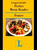 Langenscheidt's Pocket Menu Reader France