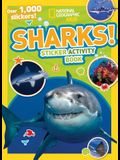 Sharks Sticker Activity Book [With Sticker(s)]
