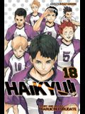 Haikyu!!, Vol. 18, Volume 18: Hope Is a Waxing Moon