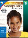 Academic Vocabulary Practice, Grade 3
