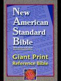 Giant Print Reference Bible-NASB