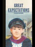 Great Expectations (Adaptation) (Turtleback School & Library Binding Edition) (Saddleback Classics)