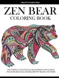 Zen Bear Coloring Book: Featuring 32 Zentangle Bear Designs Including Polar Bears, Koala Bears, Brown Bears and More