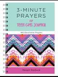 3-Minute Prayers for Teen Girls Journal: 180 Devotional Prayers