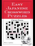 Easy Japanese Crossword Puzzles: Using Kana