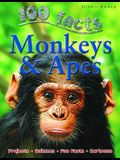Monkeys & Apes (100 Facts)