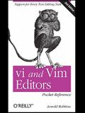 vi and Vim Editors Pocket Reference
