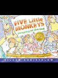 Five Little Monkeys Jumping on the Bed 25th Anniversary Edition