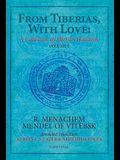 From Tiberias, with Love: A Collection of Tiberian Hasidism, Volume 1: Volume 1: R. Menachem Mendel of Vitebsk