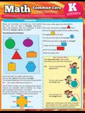 Math Common Core for Kindergarten