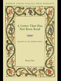 A Letter That Has Not Been Read: Dreams in the Hebrew Bible