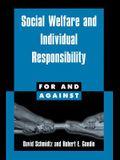 Social Welfare and Individual Responsibility
