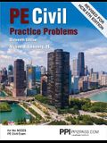 Ppi Pe Civil Practice Problems, 16th Edition (Paperback) - Comprehensive Practice for the Ncees Pe Civil Exam