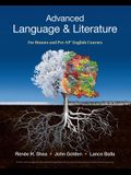 Advanced Language & Literature: For Honors and Pre-Ap(r) English Courses
