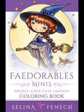 Faedorables Minis - Pocket Sized Cute Fantasy Coloring Book