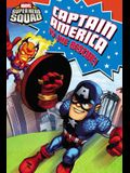 Super Hero Squad: Captain America to the Rescue! (Passport to Reading Level 2)