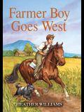 Farmer Boy Goes West (Little House Sequel)
