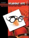 Dan Coates Popular Piano Library -- Hilarious Hits, Bk 2