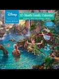Disney Dreams Collection by Thomas Kinkade Studios: 17-Month 2021-2022 Family Wa