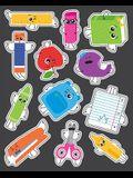 School Tools Shape Stickers
