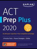 ACT Prep Plus 2020: 5 Practice Tests + Proven Strategies + Online