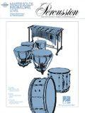 Master Solos - Percussion - Intermediate Level [With CD Audio]