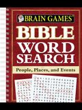Brain Games - Bible Word Search: People, Places, and Events