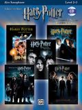 Harry Potter Instrumental Solos (Movies 1-5): Alto Sax, Book & CD [With CD]
