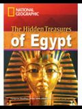 The Hidden Treasures of Egypt + Book with Multi-ROM: Footprint Reading Library 2600