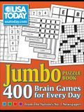 USA Today Jumbo Puzzle Book: 400 Brain Games for Every Day