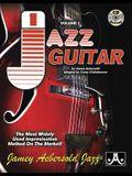 Jamey Aebersold Jazz, -- Jazz Guitar, Vol 1: The Most Widely Used Improvisation Method on the Market!, Spiral-Bound Book & 2 CDs