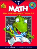 Math Basics 3 Deluxe Edition Workbook