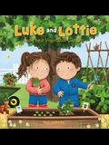 Luke and Lottie and Their Vegetable Garden