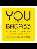 You Are a Badass 2021 Wall Calendar