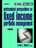 Professional Perspectives on Fixed Income Portfolio Management Volume 3
