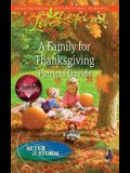 A Family for Thanksgiving (Love Inspired)