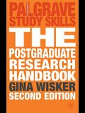 The Postgraduate Research Handbook: Succeed with Your Ma, Mphil, Edd and PhD