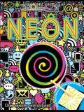 Scratch & Stencil: Neon [With Stencils and Black Scratch Paper]