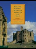 Greater Medieval Houses of England and Wales, 1300 1500: Volume 1, Northern England
