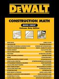 Dewalt Construction Math Quick Check: Extreme Duty Edition