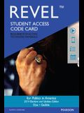 Revel for Politics in America, 2014 Elections and Updates Edition -- Access Card