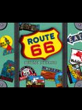 Route 66 Luggage Labels