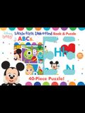 Disney Baby: ABCs: Little First Look and Find Book & Puzzle