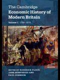 The Cambridge Economic History of Modern Britain, Volume 1: Industrialisation, 1700-1870