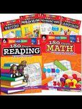 180 Days of First Grade Practice, 6-Book Set