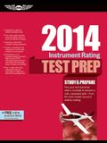 Instrument Rating Test Prep 2014: Study & Prepare for the Instrument Rating, Instrument Flight Instructor (CFII), Instrument Ground Instructor, and ... FAA Knowledge Exams (Test Prep series)