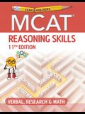 Examkrackers MCAT 11th Edition Reasoning Skills: Verbal, Research and Math