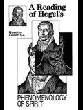 A Reading of Hegel's Phenomenology of Spirit