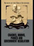 Crashes, Booms, Panics and Government Regulation
